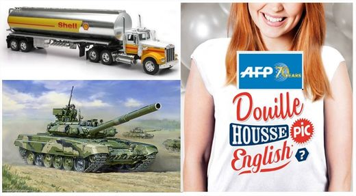tank, oil, AFP