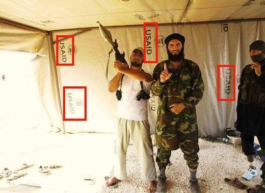Al-Qaïda USAID