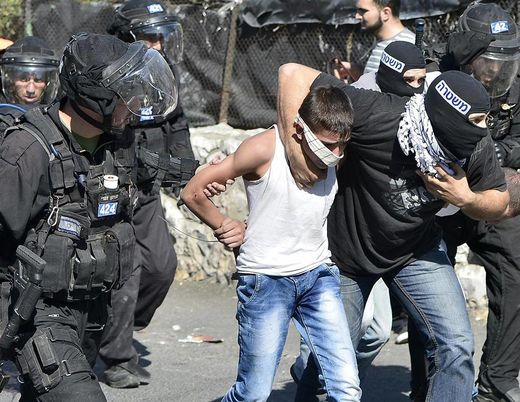 arrestations enfants palestiniens à Jerusalem
