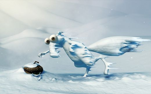 Ice age Wartoon