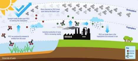 Trou d 39 ozone cfc et propagande climatique wikistrike - Qu est ce que la couche d ozone ...