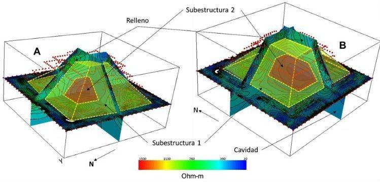Mexique : une pyramide retrouvée cachée à l\'intérieur de l\'une des ...