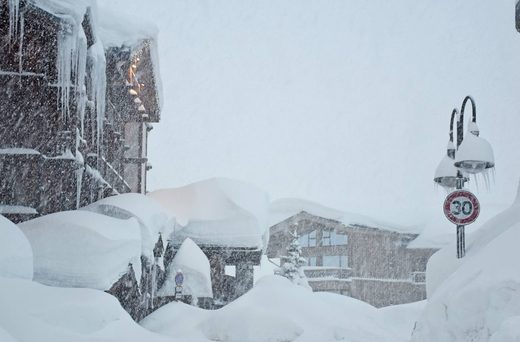 Savoie snow