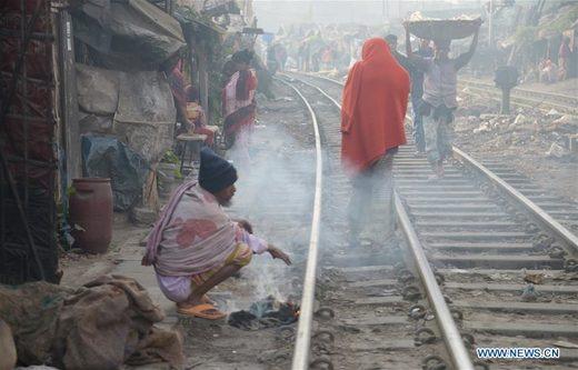 Record cold in Bangladesh