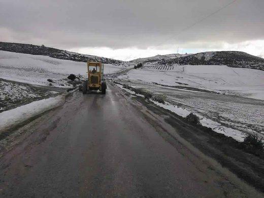 Tunisia snow