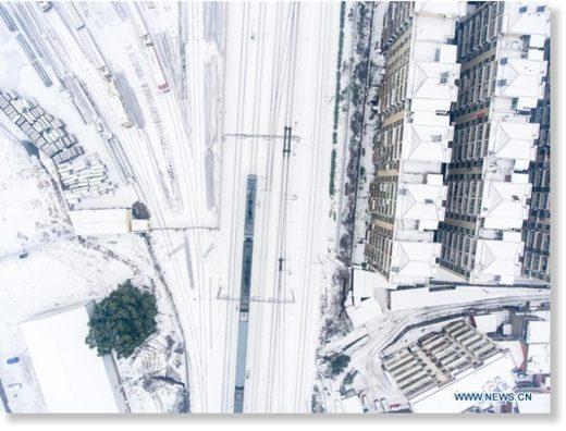 Snow scenery across China