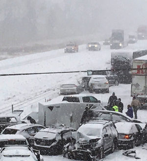 Iowa car crashes