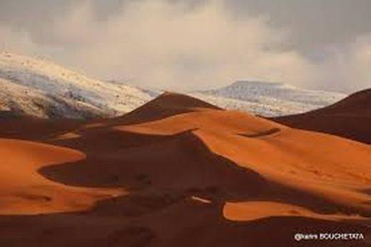 Ain Safra, neige