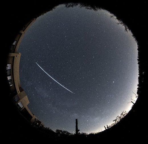 Fireball over Tucson, AZ