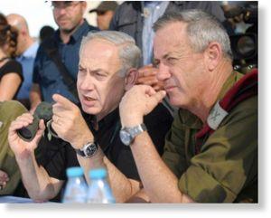 Netanyahu, Gen. Benny Gantz