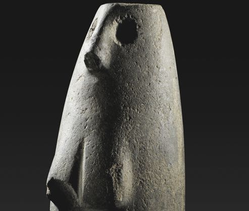 Old Egyptian Statue -6000