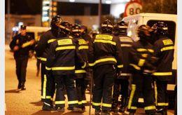 Fire Men in Madrid