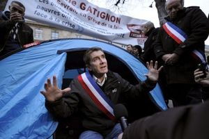 Hunger strike of the Mayor of Sevran Stéphane Gatignon