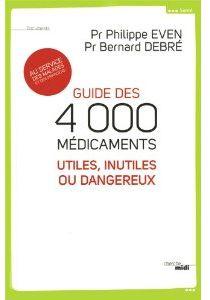 4000 médicaments inutiles et dangereux cover book