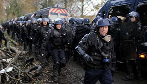 Notre-Dame-des-Landes fights with police