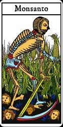 Death card Tarot - Monsanto