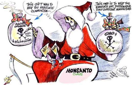 Monsanto Claus