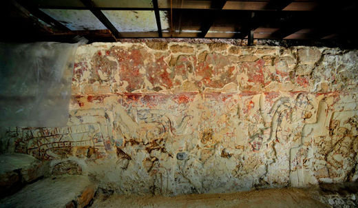 archeologie Maya découverte