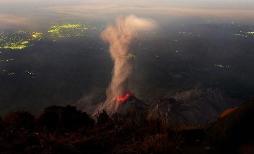 Santiaguito, an active lava dome on Guatemala's Santa María Volcano