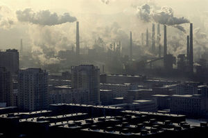 Pollution en Chine