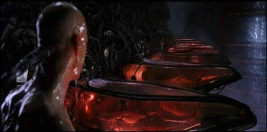 Neo se réveille, Matrix