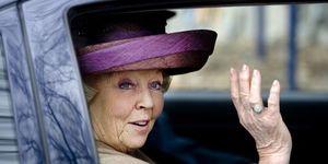 La reine Beatrix des Pays Bas