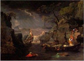 Le Déluge par Nicolas Poussin (vers 1664)