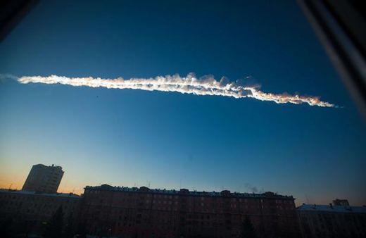 météore Oural Russie 15.02.2013