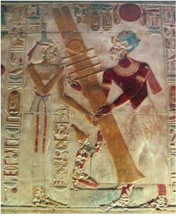 Colonnes Djed à Abydos