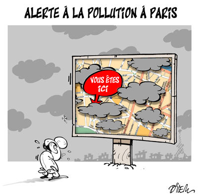 Slogan pour la pollution