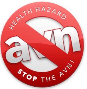 Health hazard_Stop the AVN illustration