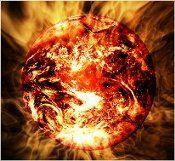 Soleil ou planète brulante