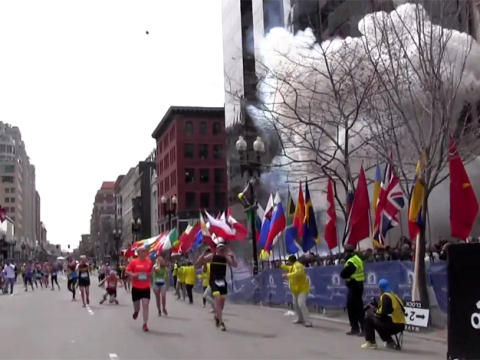 Explosion marathon de Boston 15.04.2013