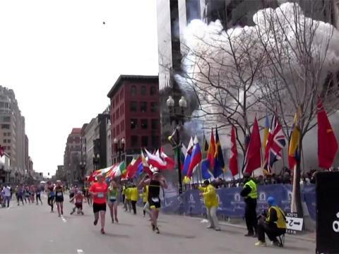 Explosion marathon de Boston 15.04.2013