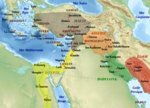 Carte Moyen-Orient, Antiquité