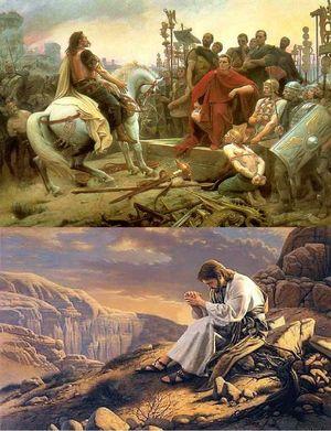 Jules César et Jésus Christ