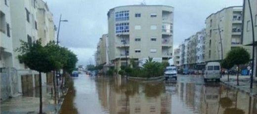 Inondations Maroc
