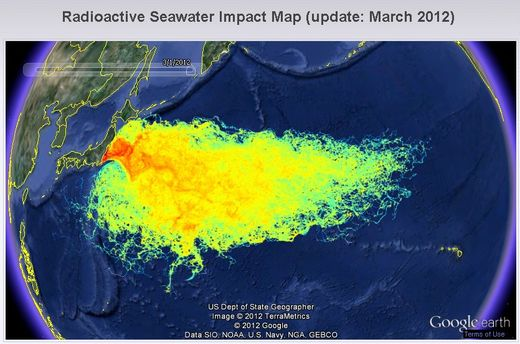 Fukushima radioactivité