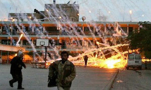 white phosphorous