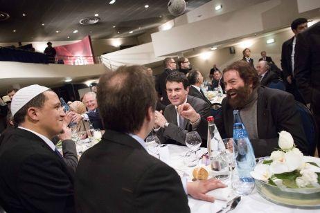 En mars, Marek Halter avait diné avec Manuel Valls et l'imam de Drancy lors de la célébration du Mouled.