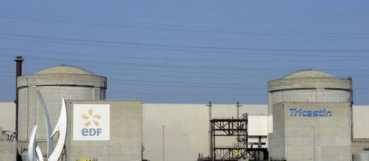 La centrale nucléaire du Tricastin (Drôme)