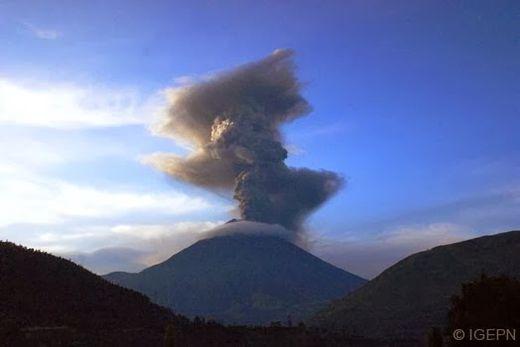 le volcan Tungurahua