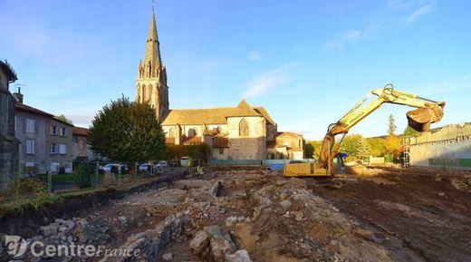 Les archéologues ont mis au jour le monastère de l'abbaye bénédictine d'Aurillac, fondée par le comte Géraud au IXe siècle