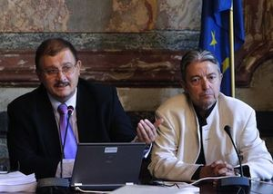 Gilles-Eric Séralini et Joël Spiroux