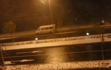 Bucarest neige
