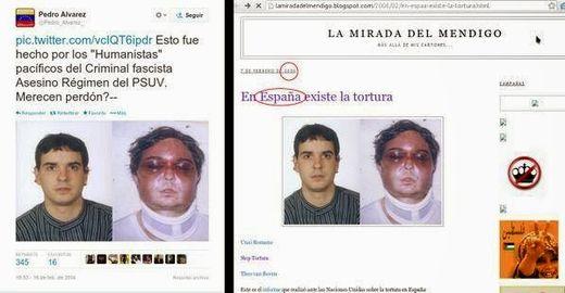Un cas de torture dans le royaume d'Espagne devient un argument pour la droite vénézuélienne