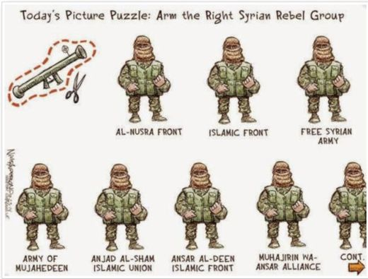 Syrian moderate rebels