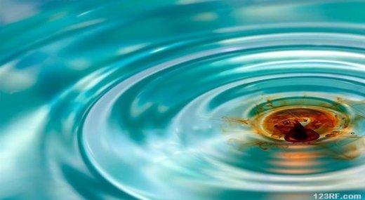 Iode dans l'eau