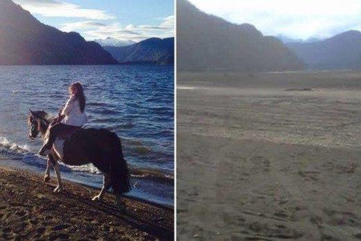 Chili: un lac de 14km²disparaît en une nuit 390