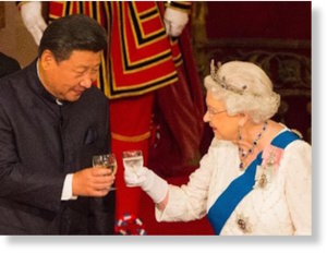 queen elizabeth and xi jinping